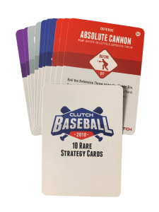 2018 Base Rare Strategy Card Set
