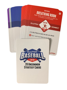 2018 Base Uncommon Strategy Card Set
