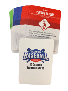 2018 Base Common Strategy Card Set