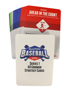 2019 Series 1 Common Strategy Card Set