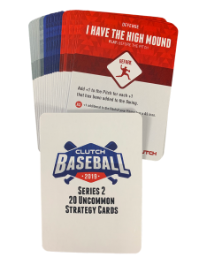 2019 Series 2 Uncommon Strategy Card Set