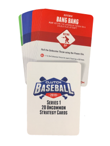 2019 Series 1 Uncommon Strategy Card Set